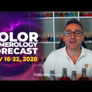 Your Weekly Color Numerology Forecast🎨🔢| November 16-22, 2020