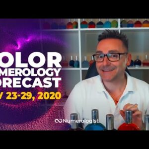 Your Weekly Color Numerology Forecast🎨🔢| November 23-29, 2020