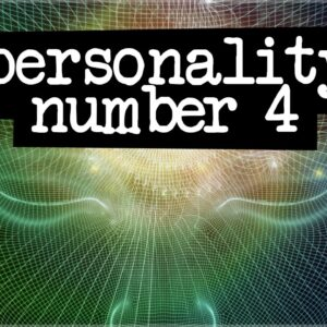 Numerology Secrets Of Personality Number 4!