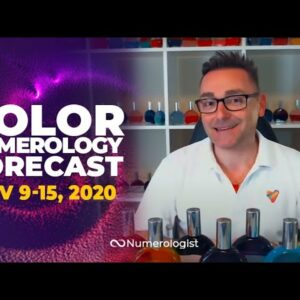 Your Weekly Color Numerology Forecast🎨🔢| November 9-15, 2020
