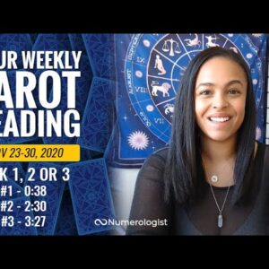 Your Weekly Tarot Reading November 23-30, 2020 | Pick #1, #2 OR #3