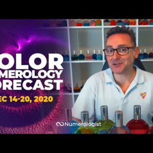 Your Weekly Color Numerology Forecast🎨🔢| December 14-20, 2020