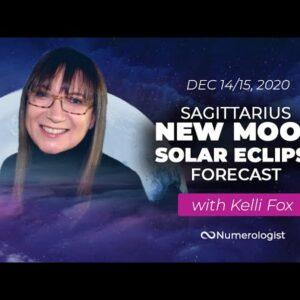 Sagittarius New Moon Solar Eclipse Forecast 🌚 14 Dec 2020 🌚
