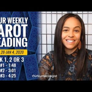 Your Weekly Tarot Reading December 28, 2020-January 4, 2021 | Pick A Card - #1, #2 OR #3