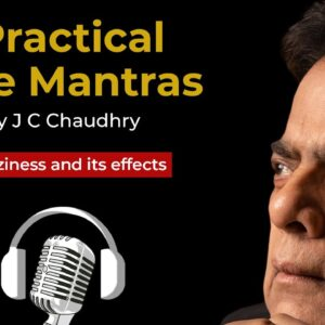 Laziness and its effects by J C Chaudhry - #OvercomeLaziness