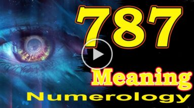 🔴 Angel Number Meanings 787 ✅ Seeing 787 ✅ Numerology Box