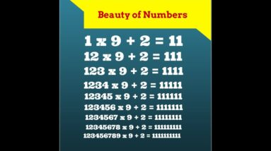 number system - Magnificence of the 3 6 9