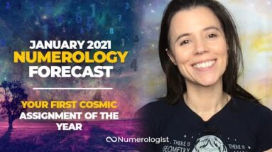 Nat's January 2021 Numerology Forecast: Your First Cosmic Assignment of The Year