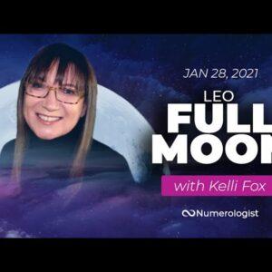FULL MOON ⚠ ALERT 🌕 Leo Full Moon Forecast (Jan 28, 2021)