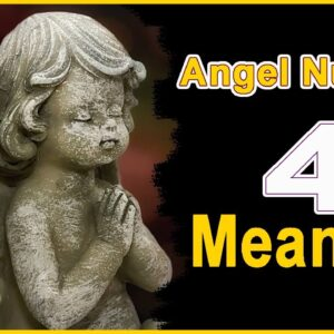 Angel Number 4  Ascended Masters | NumerologyBox
