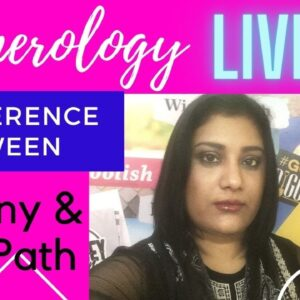 Difference Between Destiny and Life Path | Numerology | Aditi Ghosh | InnerWorldRevealed