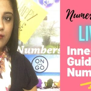NUMEROLOGY LIVE | INNER GUIDANCE NUMBER | InnerWorldRevealed | Aditi Ghosh