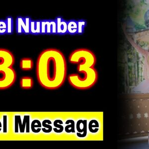 0303 Angel Number 03:03 - Angel Messages - Meaning