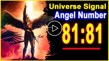 Angel Number 8181 | Why Are You Seeing 8181? | Universe Message