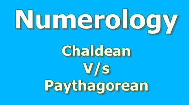 chaldean system of numerology 6 differences