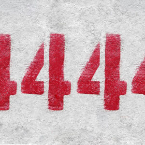 meaning of the number 4444 seeing number 4444