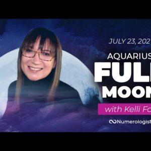Full Moon in Aquarius Forecast (July 23, 2021) With Kelli Fox (Astrology.TV)
