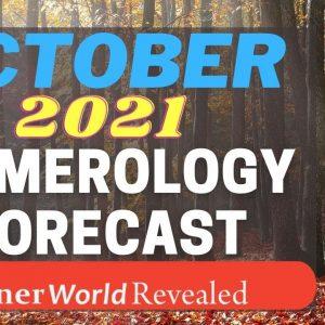 OCTOBER 2021 FORECAST | InnerWorldRevealed | Aditi Ghosh | YOUR PERSONAL NUMEROLOGY FORECAST