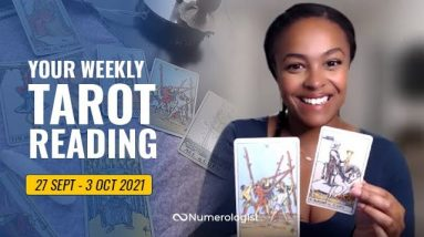 Your Personalized Weekly Tarot Reading 🃏🔮 27 Sept - 3 Oct, 2021